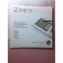 Cd Driver Palm Top Zire 21 Raro Original R$19