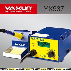 Estação De Solda Digital 937 Yaxun Ferro De Solda 110v