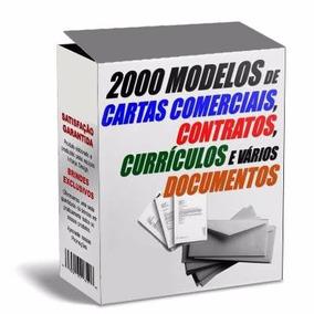 2200 Modelos De Contratos, Cartas, Docs Comerciais (em Word)