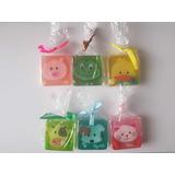 Set Paquete 6 Jabones Figuras Animales Colores Envío Gratis