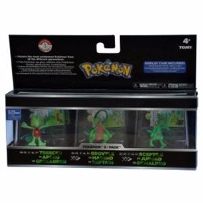 Boneco - Pokémon - Evoluções Treecko - Tomy
