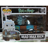 Funko Pop Rides Mad Max Rick No.37 Rick Y Morty