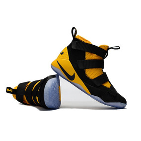 Tênis Nike Lebron 11 Preto/amarelo Novo Original