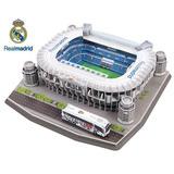 Maqueta Estadio Bernabeu Real Madrid 3d Para Armar - Luico