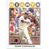 Barajita Jose Castillo Giants Topps 2008 # Uh254