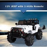 Juguete Niños Eléctrica 12v Paseo En Carro Del Jeep Con Con