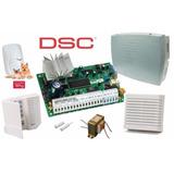 Kit Alarma Dsc 585 New 8 Zonas Con Llamador Dsc Pc-585