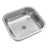 Pileta Simple Bacha Ee37 B Acero Inoxidbale Johnson Cocina