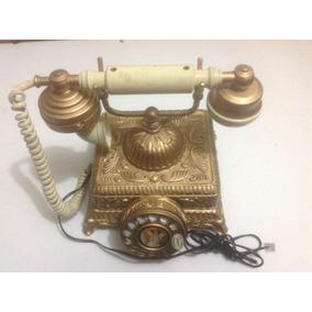Antigo Telefone De Mesa Anos 70 Funcionando