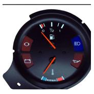 Marcador Indicador Combustível E Temperatura Corcel  Belina
