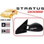 95-00 Dodge Stratus Espejo Lateral Manual Lado Izquierdo
