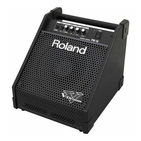 Caixa Amplificador Para Bateria Eletronica Roland Pm-10