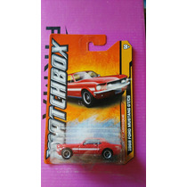 Matchbox 1968 Mustang Gt Cs De Super Coleccion, Ganalo