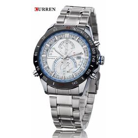 Reloj De Pulsera Curren 8149 Original Analógico Para Hombre
