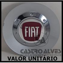 Calota Tampa Roda Scorro S182 Cromada Fiat Aro 14|15|17