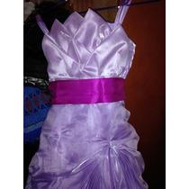 Vestido De Promocion Inicial ,talla 10 Niñas De 5,6añitos