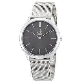 Ck Calvin Klein Mínima De Malla Del Reloj Para Hombre K3m