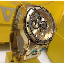 Relógio Invicta Pro Diver 23652 - Dourado Masculino ( 0074)