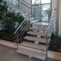 Escada De Ferro Reta , Caracol C/madeira, Granito E Aço Inox