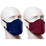Mascara Lupo Antiviral Bac Off Kit Com 2 Unissex Casual