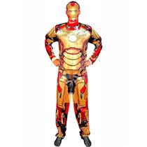 Fantasia Homem De Ferro 3 / Iron Man 3 Adulto Luxo