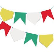 Bandeira Junina Plástica - 10 Metros