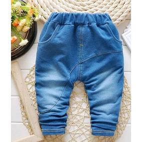 Roupa Bebê Calça Jeans Saruel Inverno Menino Top Importado