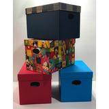 Cajas Forradas De Carton