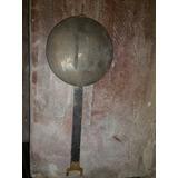 Péndulo De Madera Y Bronce Para Reloj De Pared