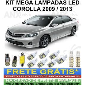 Kit Mega Lampadas Led Toyota Corolla 2009 / 2013 Só Top