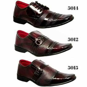 577df374e8 Sapato Social Fretes Gratis Promoção - Sapatos para Masculino Bordô ...