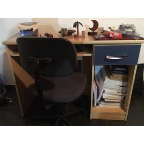 Escritório - Escrivaninha E Cadeira Giroflex