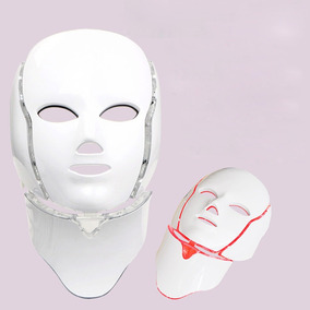 Máscara Led Facial Y Cuello Envío Gratis Hoy!