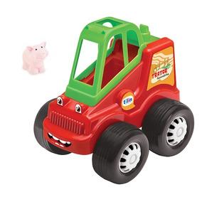 Brinquedo Trator Fazendinha C/ Bichinho - Tilin