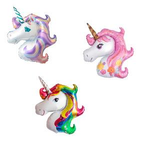 12 Globos Unicornio Chico Para Decorar Centro De Mesa