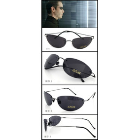 Óculos De Sol Matrix Neo Uv Protection Preto - Em Promoção