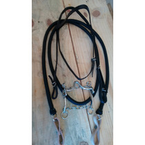 Cabeçada + Rédea + Freio Para Cavalos Preço Imbatível
