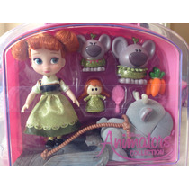 Anna Princesa Mini Animators Disney Store 12cm