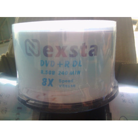 Discos Dvd Nesta Doble Capa 8.5 Gb