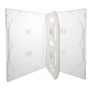 10 Box Caixa Capa Estojo Para 60 Dvds Transparente Sony