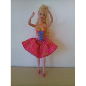Linda Boneca Barbie Bailarina