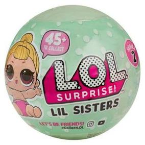 Boneca Lol Surprise Lil Sisteres Réplica Pronta Entrega