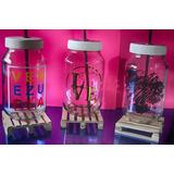 Frascos Personalizados , Mason Jar, Fiesta Decoracion Cotil