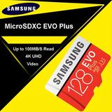 Memoria Sd Samsung Original 100 Mb/s De 128 Gb