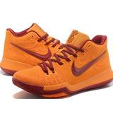 Tênis Nike Basquete Kyrrie 3 Laranja Original