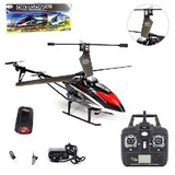 Helicóptero Controle Luzes 3canais Bateria Recarregável