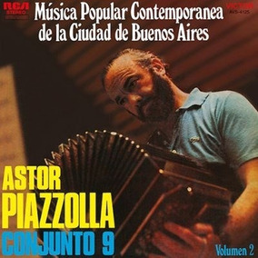 Vinilo Nuevo Astor Piazzola Musica Popular De Bs As Vol2. Lp