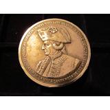 Medalla Plata Bicentenario Los Andes Casa Moneda O´higgins