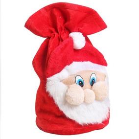 Para Navidad Bolso Cara Santa Claus Bolsa 3d Papa Noel 36