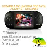 Consola De Juegos Pocky 8 Bit-noganet